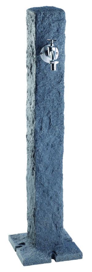 Elegante tuinwaterkraan. Imitatie graniet-0